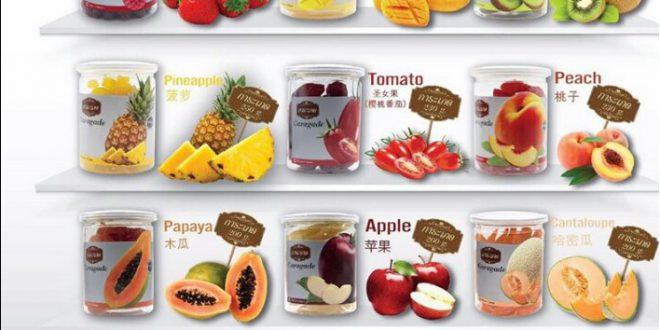 میوه خشک تایلندی